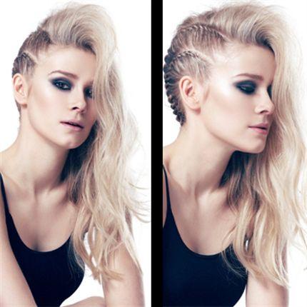 Нанесите на волосы L'ANZA Keratin Healing Oil для легкого плетения