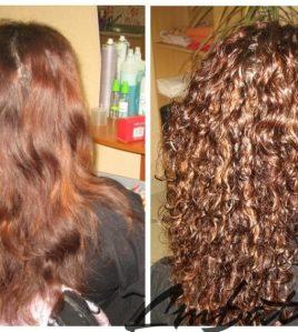 Профессиональная биозавивка волос