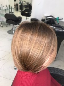 Пример восстановления волос 8