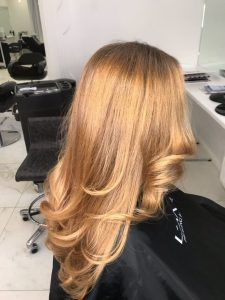 Пример восстановления волос 7
