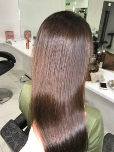Пример восстановления волос 4