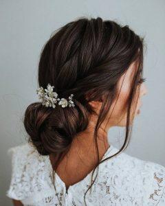 Пример свадебной прически 7