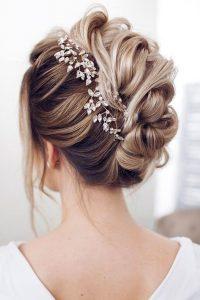 Пример свадебной прически 1