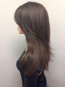 Пример смывки волос 2
