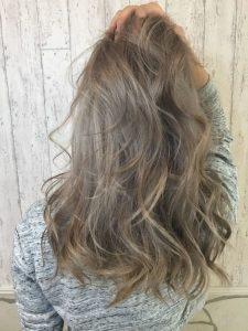 Пример смывки волос 7