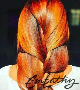 Окрашивание длинных волос
