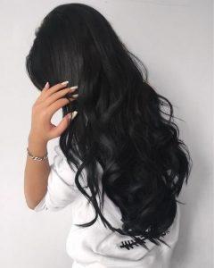 Пример окрашивания длинных волос 3
