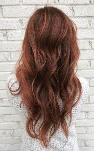 Пример окрашивания длинных волос 4
