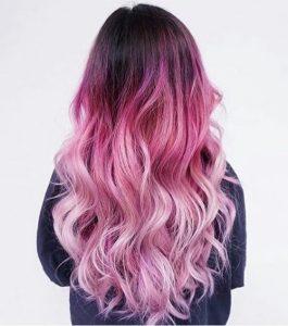Пример окрашивания длинных волос 2