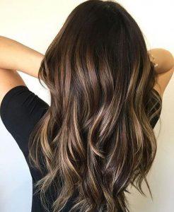 Пример окрашивания длинных волос 7