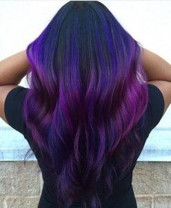 Пример окрашивания длинных волос 8