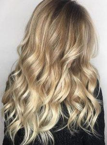 Пример окрашивания длинных волос 5