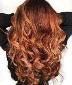 Пример окрашивания длинных волос 6