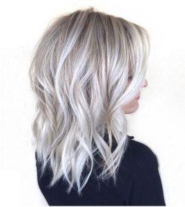 Окрашивание в холодный блонд